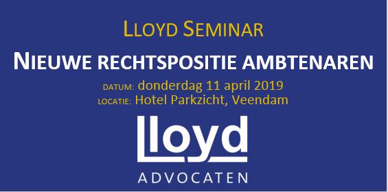 Lloyd seminar logo social media