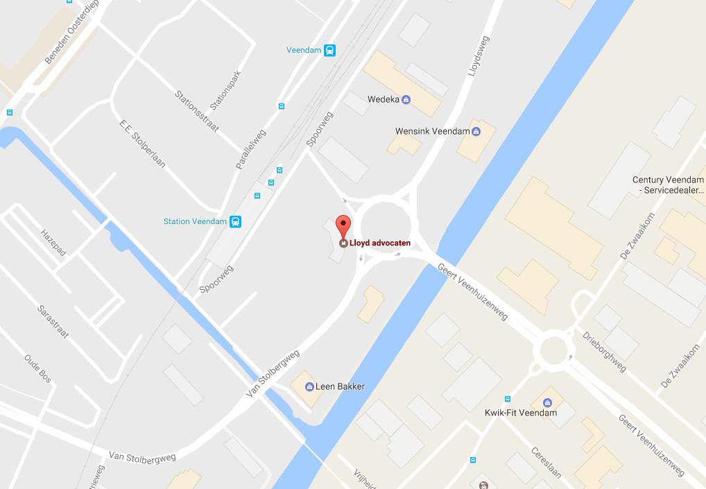 kaart Veendam1