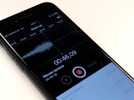 telefoon voicerecording